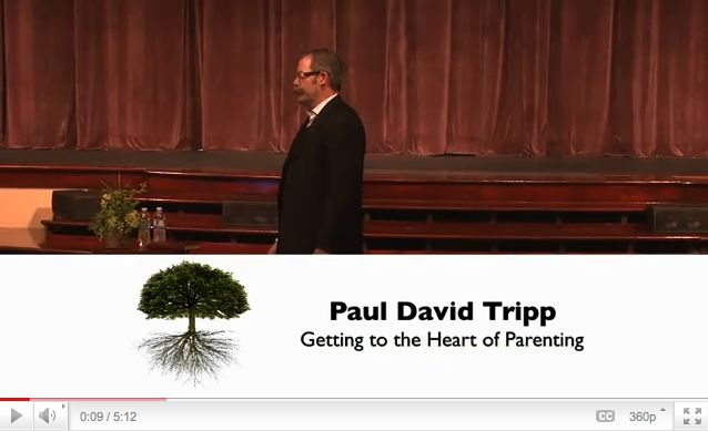 Getting to the Heart of Parenting (DVD) by Tripp, Paul David