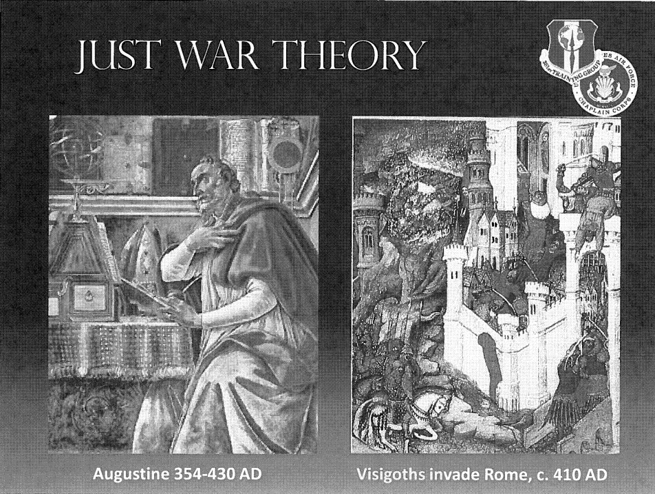 st augustines just war theory and Fifth-century philosopher st augustine of hippo sought to provide an answer to the question his approach formed the foundation of the 'just war' tradition, which has has enormous influence upon moral-philosophical thought on military issues in the west ever.